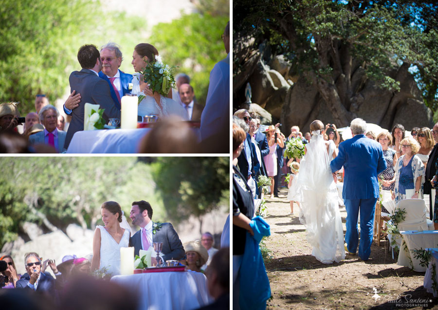 mariage a l'ermitage de la trinité de bonifacio